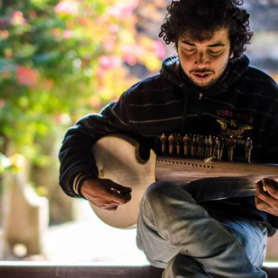 Dixit Adhikari: Ethnomusicologist specializing in the study of traditional Nepali and classical music genres