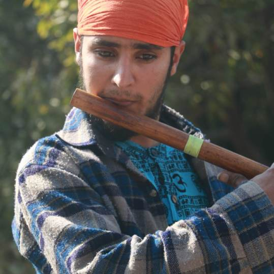 Subash Adhikari: Musician and experimentalist in traditional and classical Nepali genres with a knack for building things out of everyday objects