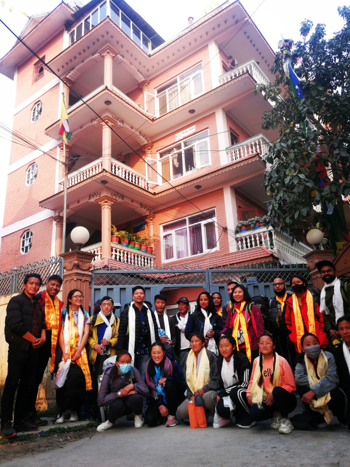Snow Leopard Residence activities 2020/21 and Covid-19 Pandemic inNepal